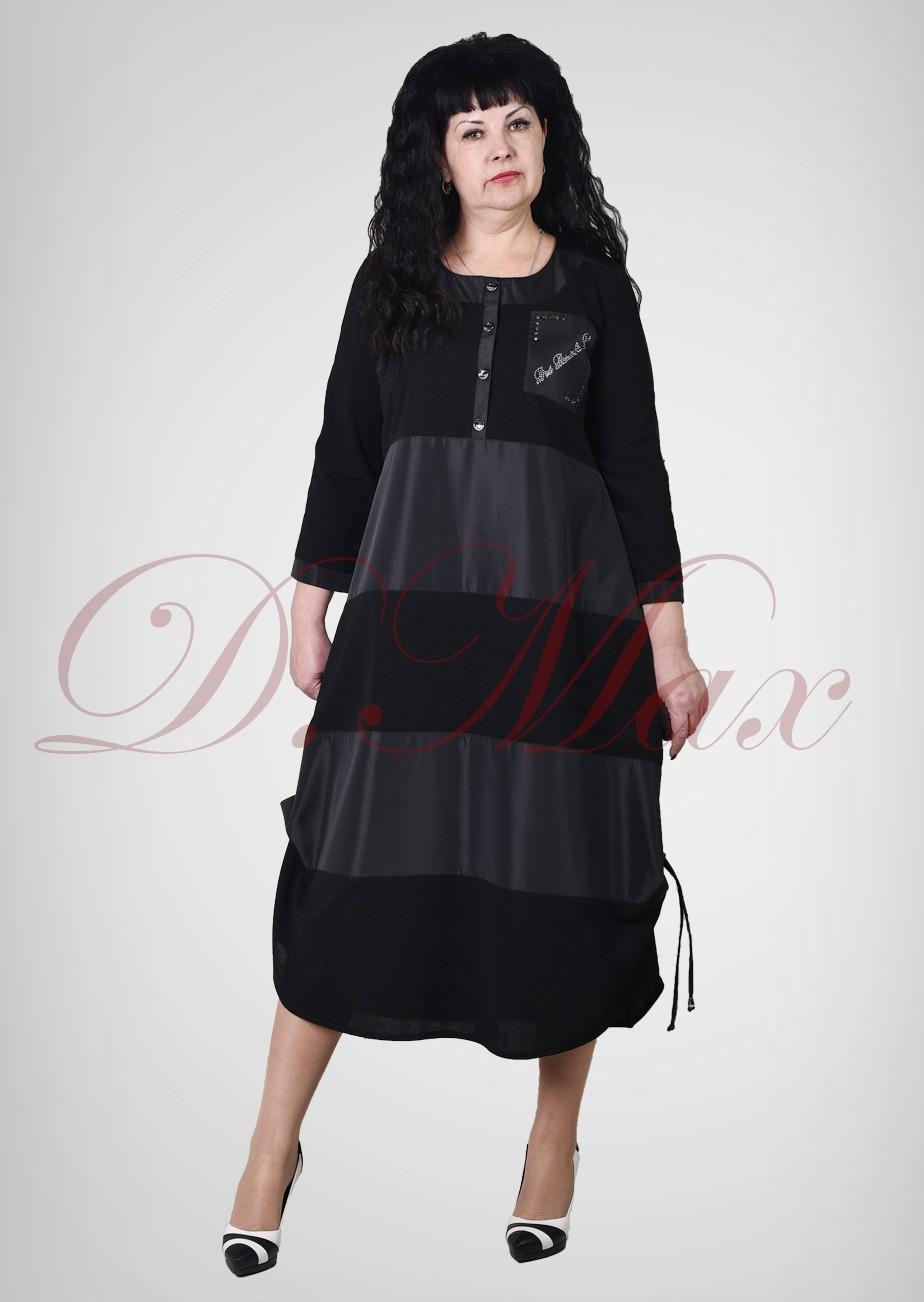 Платье бохо с планкой