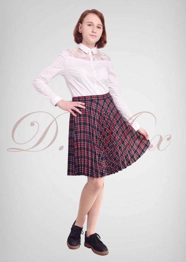 юбка для девочки гофре